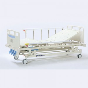 Factory Supply 1 Function Hospital Bed - Three crank Manual Bed – Pukang