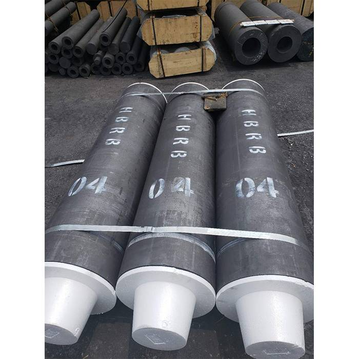 HP Graphite Electrode for Steelmaking EAF. Dia.450-500mm(Inch 16″- 20″)