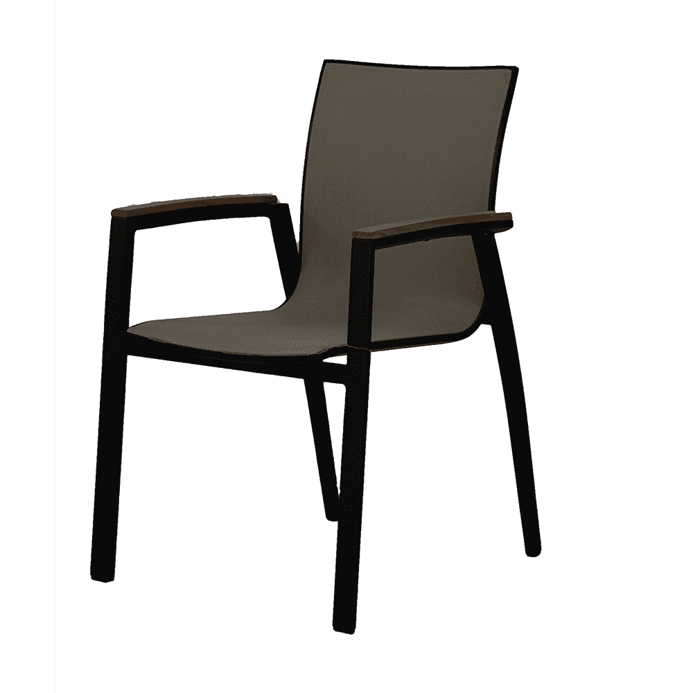 Wholesale Price Rectangle Patio Table - Aluminium Office Dinning chair living room chair outdoor chairs – Top Asian