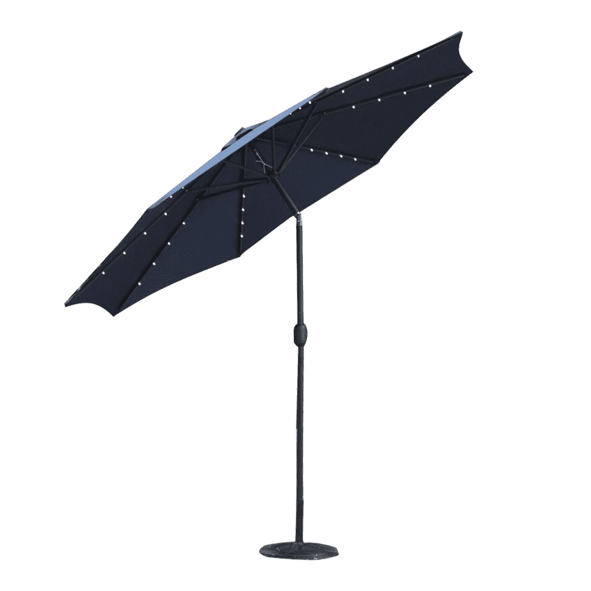 Promotion Garden Led Parasol Patio Solar umbrella
