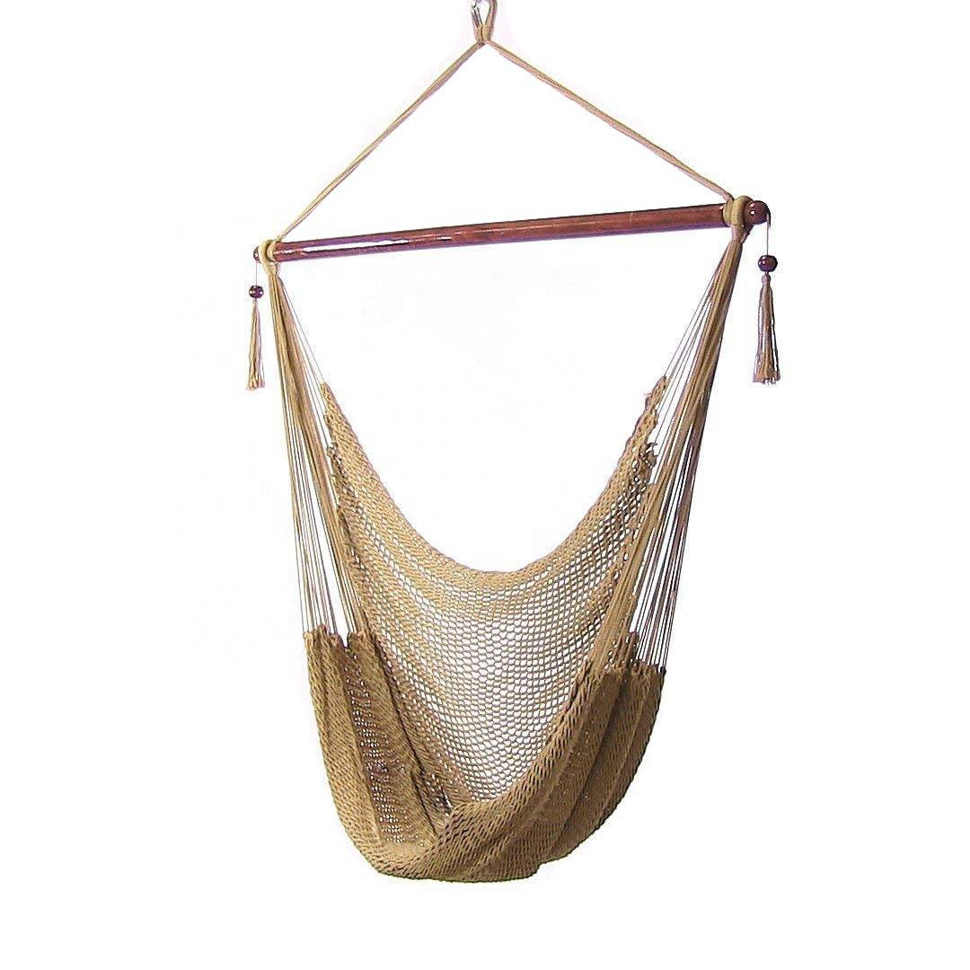 Good quality Hammock Without Stand - Outdoors  hammock swing  Hanging cotton  rope Hammock chair – Top Asian