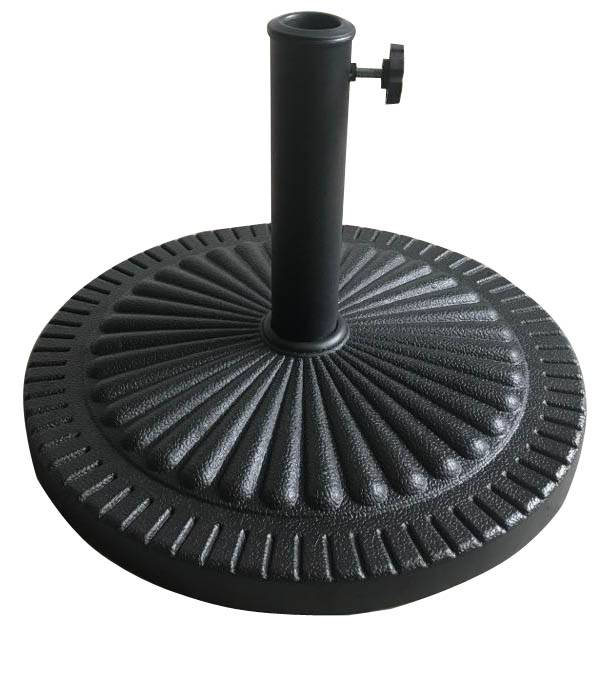 Outdoor Leisure Patio Round  Resin Umbrella Base
