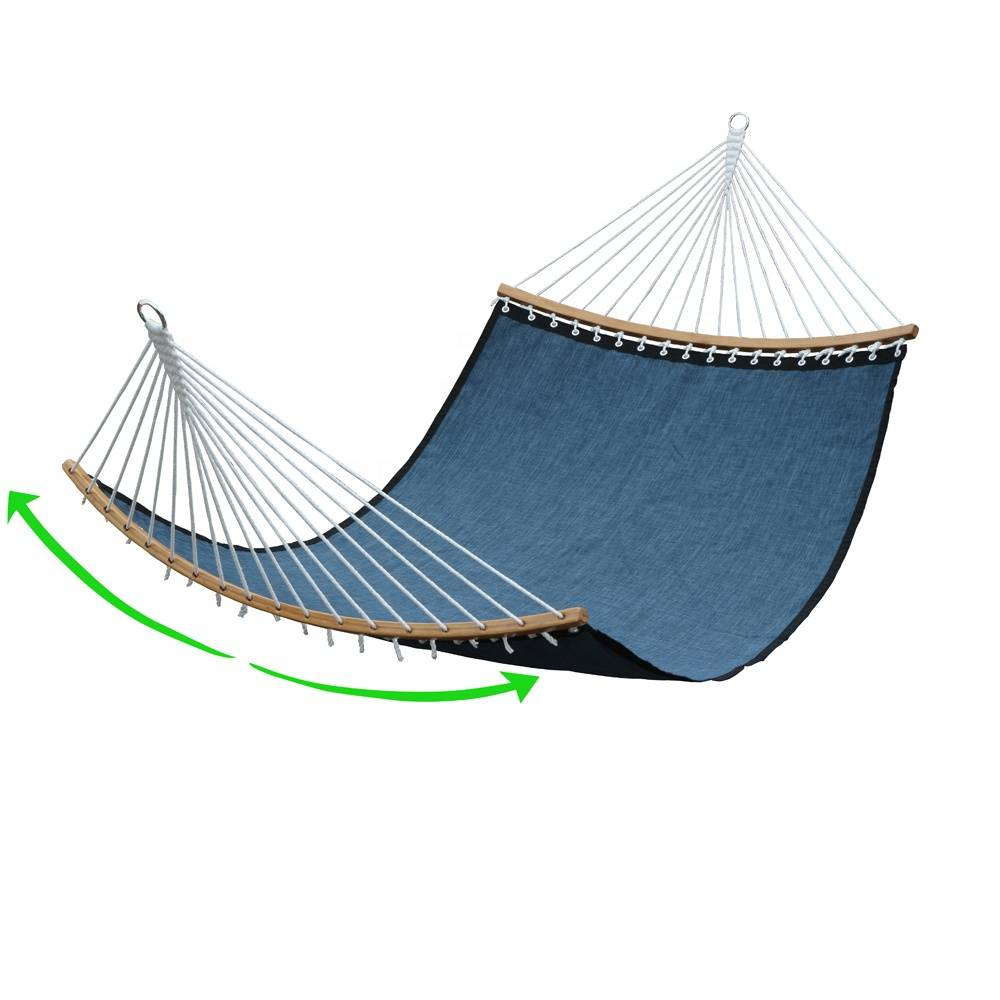 Deluxe Curved Bamboo Quickdry Hammock