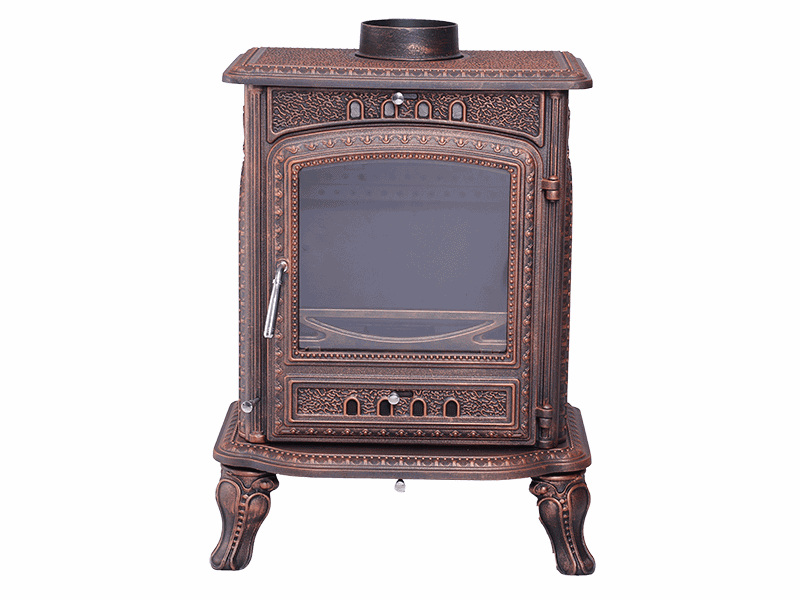 Chinese wholesale Antique Cast Iron Fireplace Surround - BST26  cast iron fireplace CE approved – Womho