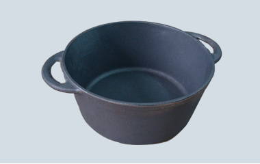 Cast iron pot dia 30cm cookware