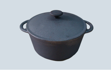 Cast iron pot dia 20cm