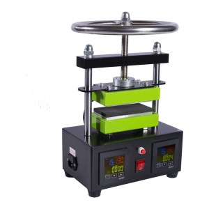Auplex 2T Oil Extract Rosin Press Manual Dual Heating Plates Rosin Heat Press Machine