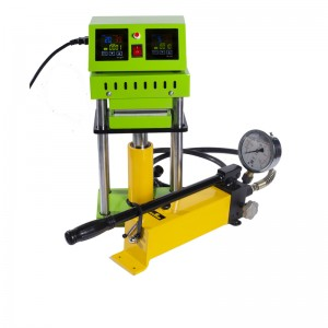 High Pressure 15T Hydraulic Manual Rosin Press ...