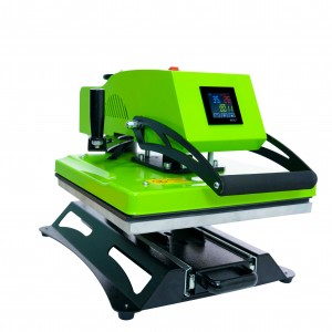 High End Product 360° Rotary High Pressure LCD Heat Press Machine