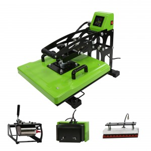 Semi-Automatic Auto Open 5 IN 1 Combo Pen Heat Press Heat Transfer Machine