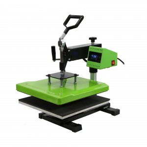 360° Rotary Swing Away Head Manual Heat Transfer Machine