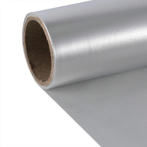 China wholesale Aluminum Foil Laminated Fiberglass Cloth - Aluminized Fiberglass Fabric – Chengyang