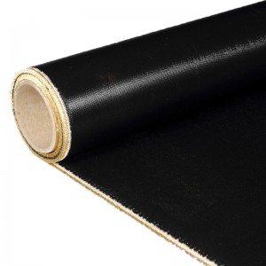 Black Fiberglass Cloth