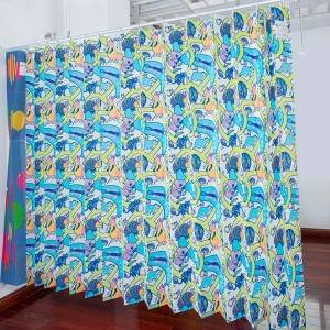 Printed disposable curtains-Koala
