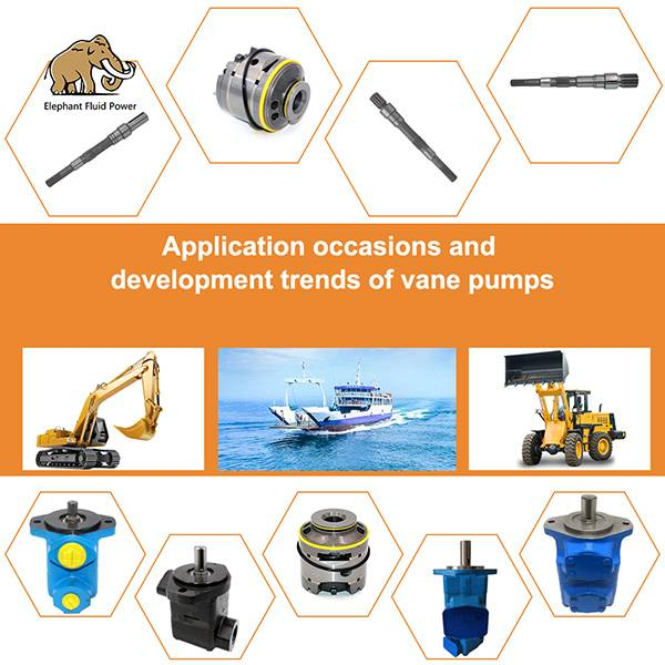 Application occasions and development trends of vane pumps