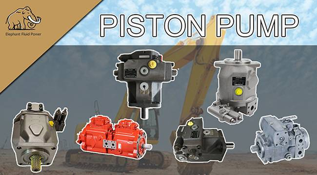 Application of hydraulic piston pump