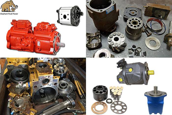 Maintenance of hydraulic pumps