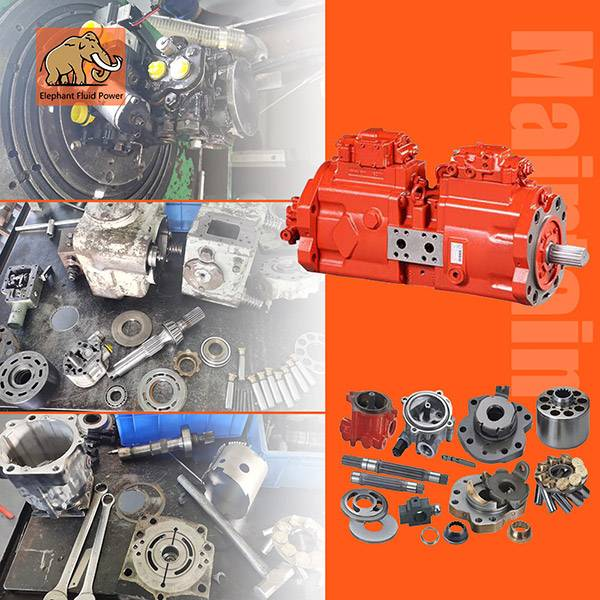 Common Problems during hydraulic pump repair and maintenance