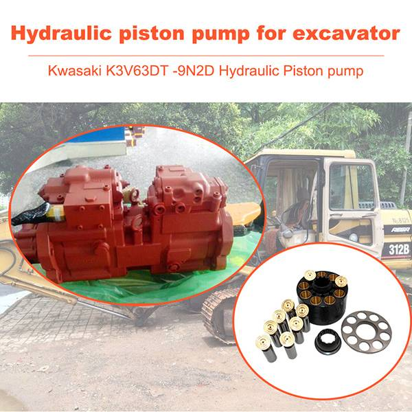 Hydraulic Piston Pump K3V63DT-9N2D