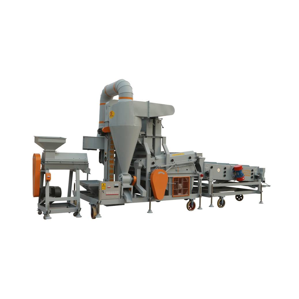 Double Gravity Wheat Cleaning Machine(5XFZ-15SCM)