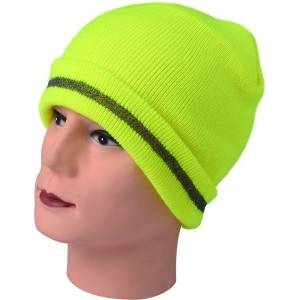 892:neon knitted hat,fold knitted hat