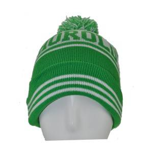 898-2: knitted hat with  jacquard weave