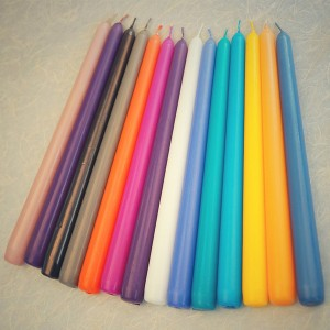 Wholesale 12 inch paraffin wax taper candle