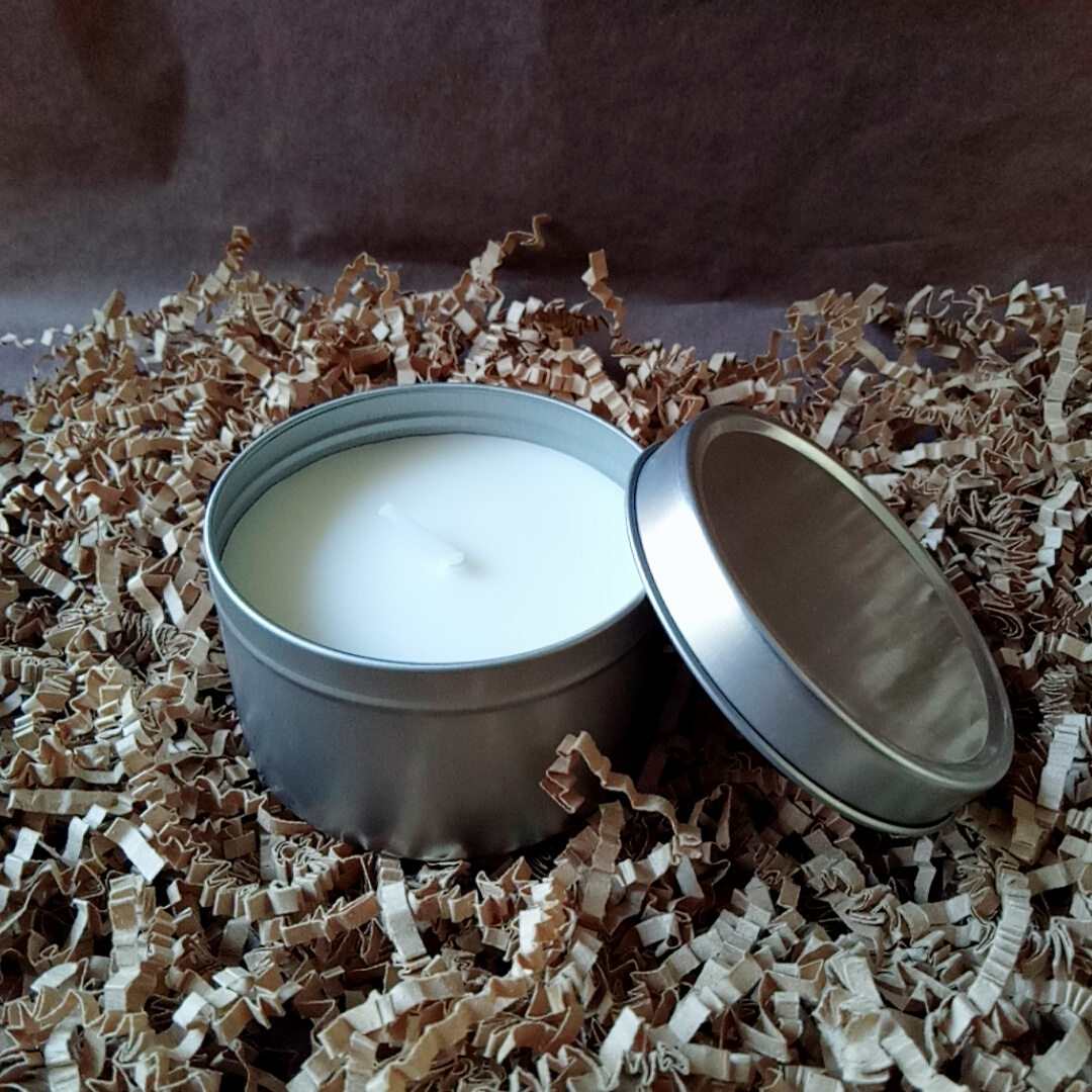 Scented Candle-3 Scented Candles Soy Wax Travel Tin Gift Candles for Aromatherapy Featured Image