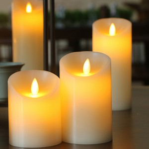 Customized Moving flame LED Candle