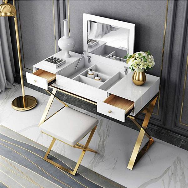 YF-T6 stylish and modern dressing table Featured Image