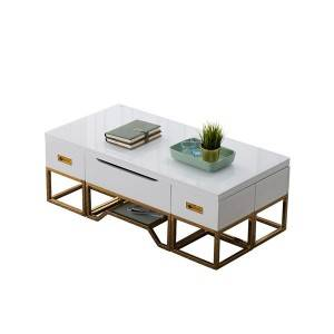 YF-H-903 multifunction cofee table+dinging table