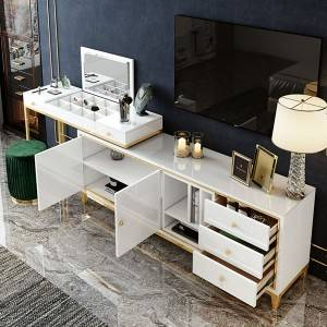 YF-T22  stylish and functional Makeup Vanity +TV stand cabinet