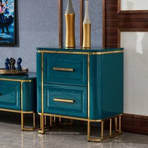 YF-H-208 2 Drawer Nightstand Modern Side Table