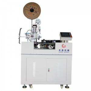 HC-1010DZ multicore cable crimping and tinning machine