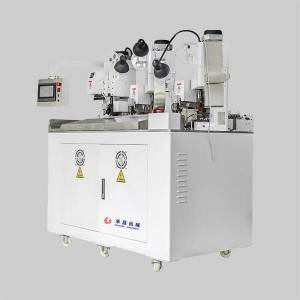 HC-HY Three ends terminal crimping machine