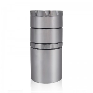 50MM/2 Inch 5 Piece Deep Jars Aluminum Alloy Herb Grinder