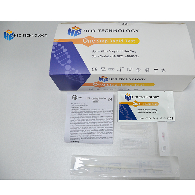 High Quality 2019-Ncov Testkit - COVID-19 Antigen Rapid Test Cassette Corona Virus Rapid Test Kit – HEO