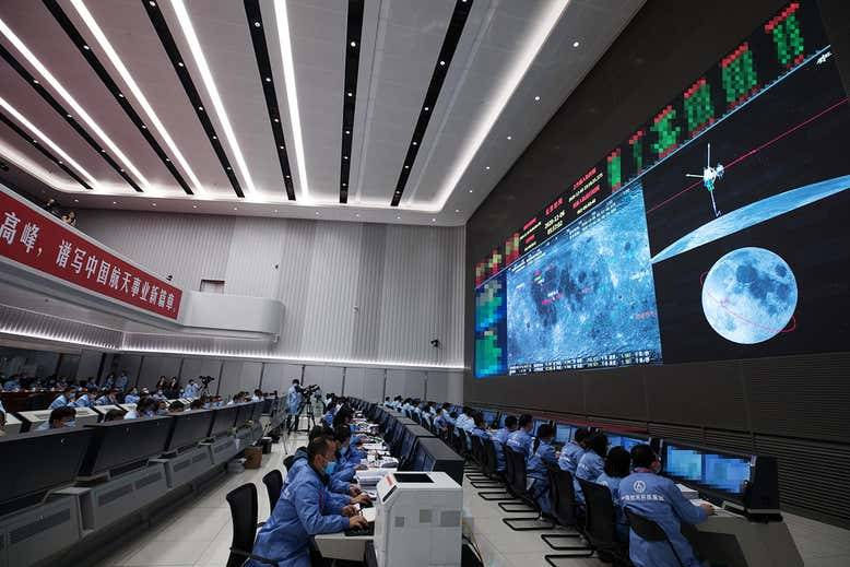 China's Chang'e-5 mission has returned samples from the moon to earth