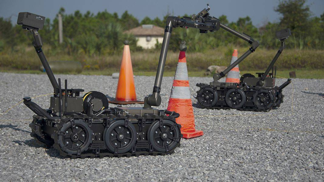 Rollout started of high-tech EOD robots to installations