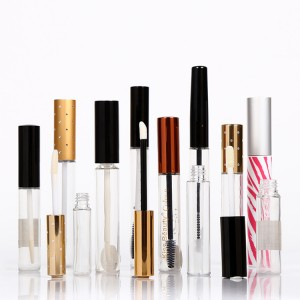 Good User Reputation for Cream Tube - Diamond cut gold top Empty lip gloss tube container – HEYPACK