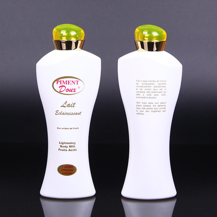 France Welcomed 200 ml Golden Electroplate Crown Cap PE  Plastic Shampoo Bottle