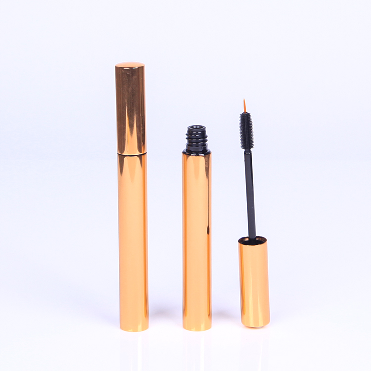 Hot sale Factory Pink Cosmetic Jar - Dark golden liquid eyeliner tube manufacturer – HEYPACK