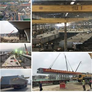 OEM/ODM China Construction Projects Fabricated Steel Structure - Steel highway bridge fabrication and installation – Honghua