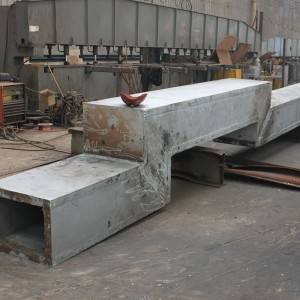Wholesale Thick Plate H-Beam - Welded square tube – Honghua