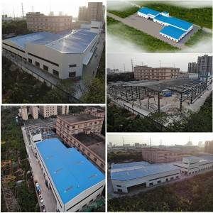 Industrial Steel Frame Buildings - Steel structure workshop installation – Honghua