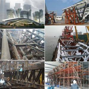 Construction - Steel structure high-speed train station – Honghua