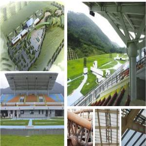 Steel Frame Workshop - Sport hall structure – Honghua