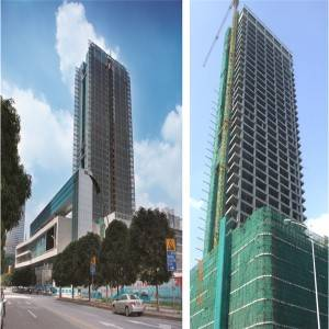 Famous Steel Buildings - High-rise steel apartment – Honghua