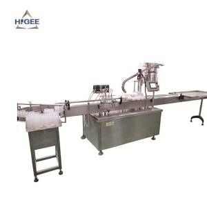 Automatic Cup Type Chemical Filling Machine Line