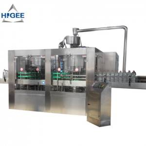 Small PET Bottle Filling Machine Line